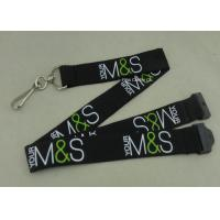 Best Custom Company Woven Lanyard Holder Sublimation Ribbon For Fair Show ID Card wholesale
