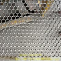 Best aluminum powder coating white perforated metal sheet panels for walls wholesale