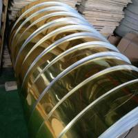 Best Gold Mill Finished Mirror Polished Aluminum Sheet For Electric Appliance Panel wholesale
