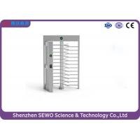 Buy cheap Single and Bi-direction Arm Turning RFID Card Reader Full Height Turnstile product