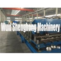 Cheap Safe High Efficient Floor Deck Roll Forming Machine 50HZ 3 Phase for sale