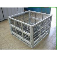 China Logistics Racks Trolleys Large Storage Containers Cold Galvanized Packaging Systems on sale
