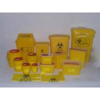 Best Red Or Yellow Medical Waste Containers , Disposable Sharps Containers Round Shape wholesale