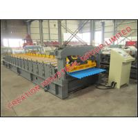 China Prepainted / Galvanized Corrugated Sheet Making Machine Roll Forming Line on sale