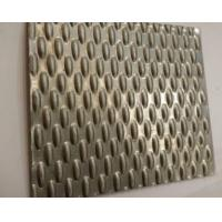 China 304 316 Embossed Metal Sheet Decorative Stainless Steel Sheet for Elevator Ceiling Panel on sale