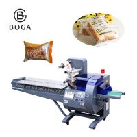 China Food Grade Sponge Cake Packaging Machine Plastic Bag Packing CE Approved on sale