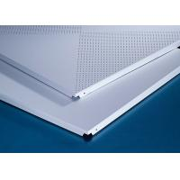 Best Perforated 600x600MM Clipped Ceiling Demountable Anti Magnetic Sterile wholesale