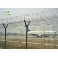 Best Decorative Garden Welded Mesh Fence / Square Wire Mesh Fence With Erosion Resistance wholesale