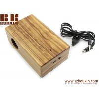 New Mini Induction portable Boombox For phone Wireless music speaker Wooden Speaker