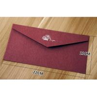 Creative high-grade stamping texture paper business invitation envelope