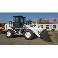 Best Yellow Or White Color SINOMTP LG938 Wheel Loader With 1.8m³ Bucket For Construction Using wholesale