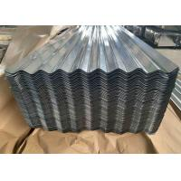 Best Steel Regular Spangle Galvanized Corrugated Metal Roofing Panels 0.14-1.5mm Thickness wholesale