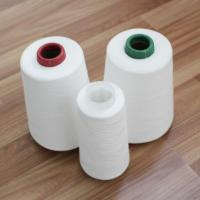 Best Z / S Twist Raw White Polyester Yarn for Sewing Thread OEM Manufacture wholesale