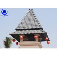 Prefabricated Houses Roof Building Material Plastic Roof Cover Synthetic Resin Roof tile