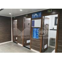 Best Convenient Prefabricated Modular Toilets , Q550 Standard Steel Luxury Mobile Toilets wholesale