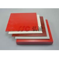 China Colorful GPO3 Fiberglass Sheet , Polyester Sheet Excellent Mechanical Strength on sale