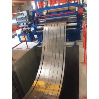 China Cold Rolled Thick Plate Steel Coil Cut To Length Line 63m * 12m Size 20T Weight on sale