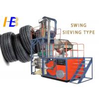 China High Throughput Rate Rubber Grinding Machine For Waste Tire Recycling on sale