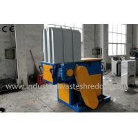 Best Single Shaft Plastic Lumps Shredder , Plastic Lump Crusher With PLC Control System wholesale