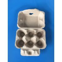 Buy cheap plup paper egg tray egg packing box 6 pcs from wholesalers
