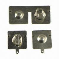Best Battery Spring with 0.5 to 1.0mm Wire Diameter, for Alarm Clock wholesale