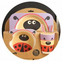 Best BIO-DEGRADABLE BAMBOO FIBER KIDS DINNERWARE SET wholesale