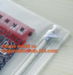 Best Office stationery waterproof document slider pvc packing bag,Custom waterproof file bag office supplies bag pvc plastic wholesale