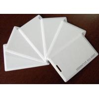 China Thin white ID card, Thick white ID card, inductive ID card, identification card, blank ID card, access control card on sale