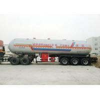 Best Tri Axles Tank Semi Trailer For 40000L- 48000L Liquid Ammonia Transport wholesale
