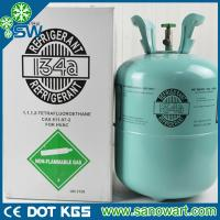 Best refrigerant gas r134a with disposable cylinder package 13.6kg wholesale