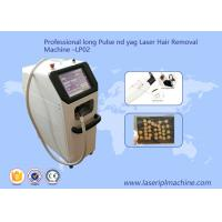 Buy cheap Long Pulse Salon Laser Hair Removal Machine / Professional Hair Removal Laser from wholesalers