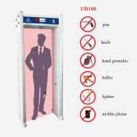Best Single Zone Walk Through Metal Detector Door Frame 20W For Safety Inspection wholesale