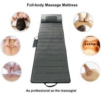 Best Infrared Cool Gray Full Body Shiatsu Massage Mat Foldable Comfortable wholesale