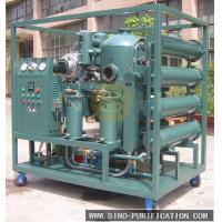 Best Vacuum Insulation Oil Recycling Plant Transformer Oil Purification Machine With Degassing / Dehydration wholesale