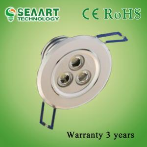 China 6063 Aluminium Alloy 10 Degree New Style 3W LED Downlight on sale