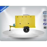 Best 12 Cylinder 75dB quietest Trailer Mounted Generator large in - line Config with Dry oil filter wholesale