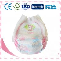 China High Quality Breathable Cotton Baby Diaper With Magic Paste on sale
