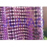 Best Rust Proof Metal Sequin Fabric No Electrical Conductivity For Ceiling Decorations wholesale