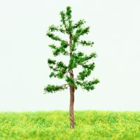 Best Train Station Layout Miniature Model Scale Trees Green Avenue Metal Wire Pine Tree 4.3cm wholesale
