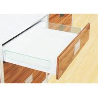 Best Soft Close Twin Wall Kitchen Tandem Box With Glass Side Panel OEM Service wholesale