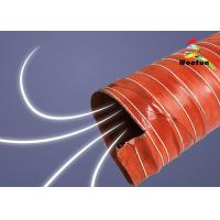 Best HVAC Insulated high pressure high temperature silicone air duct wholesale