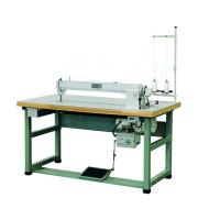 China 1000rpm Single Needle Sewing Machine , 35mm Thickness Long Arm Sewing Machine on sale