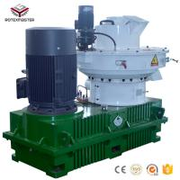 China YGKJ560B 90/110kw Alloy Steel sawdust making press machine wood pellet machine for Wood processing plant on sale