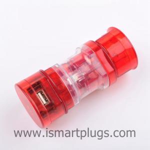 China Small Size International Travel Adapter Plug With 1A USB Port TQ531-1 on sale