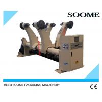 China Stainless Steel Corrugated Cardboard Production Line Hydraulic Mill Roll Stand on sale
