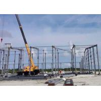 Cheap Large Span Prefabricated Steel Structures / Prefabricated Self Storage Buildings for sale
