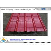 Buy cheap Color Coated 1060 Corrugated Aluminum Sheet Zinc Aluminum Roofing Panels from wholesalers