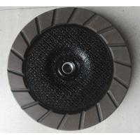 China 100 - 180 mm diameter Diamond  Ceramic  Bond  Egding Cup Wheel  For Concrete on sale