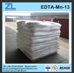China manganese disodium edta trihydrate for water chelate on sale