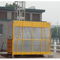 China Yellow OEM Goods Material Construction Hoist Elevator SC100 with Hot Dipped Zinc wholesale